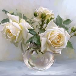 Белые розы, Бузин И.,